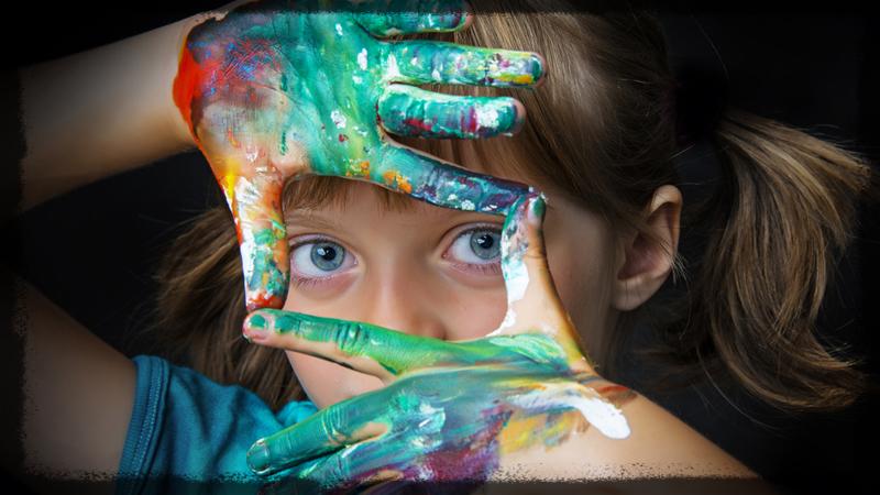Kinder Chaos Zerstreuung